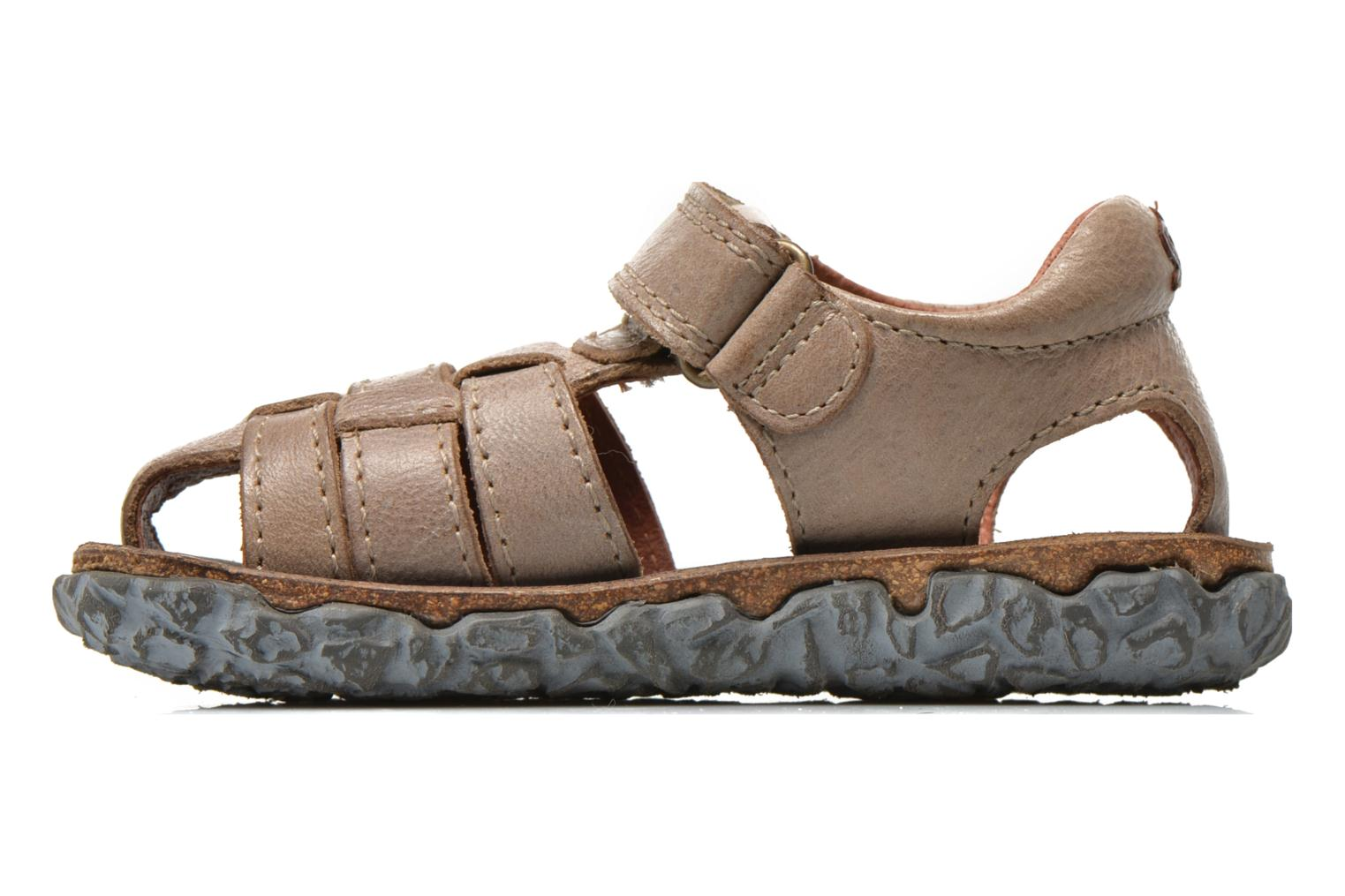 Sandals Stones and Bones Raxi Grey front view