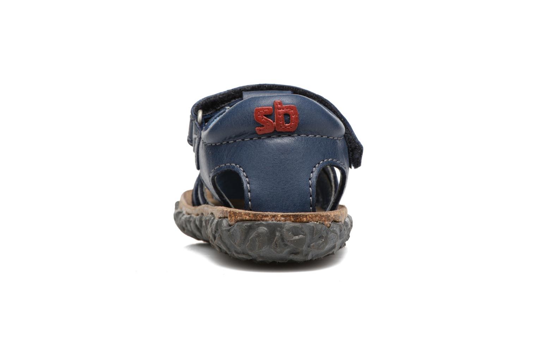 Sandali e scarpe aperte Stones and Bones Raxi Azzurro immagine destra