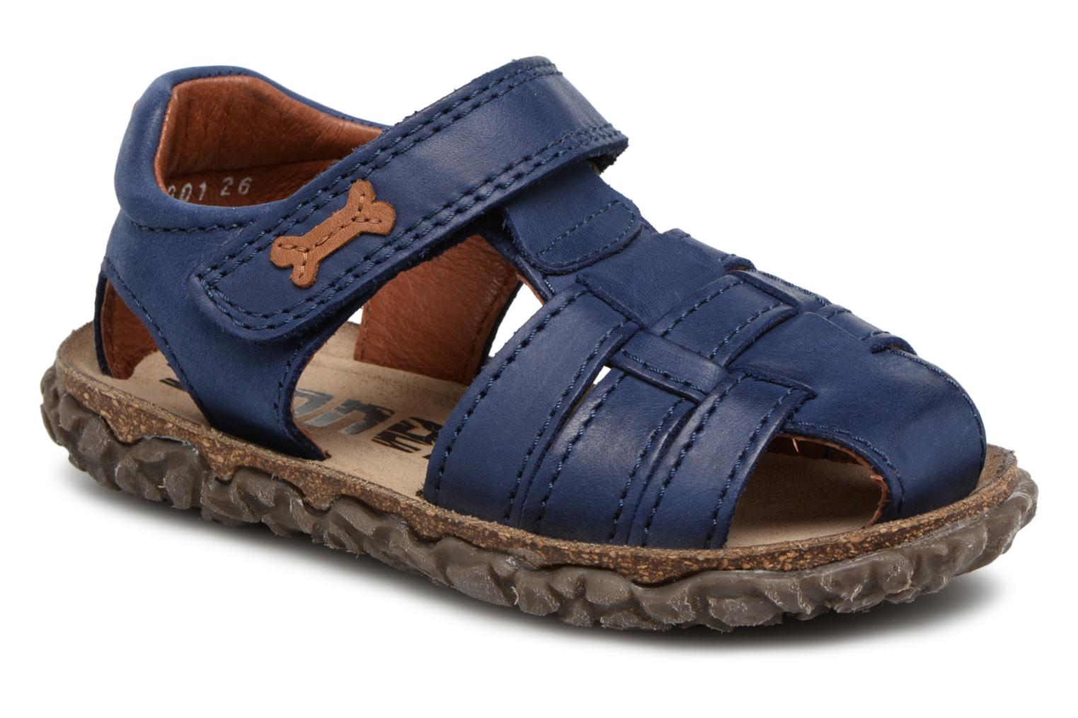 Sandals Stones and Bones Raxi Blue detailed view/ Pair view