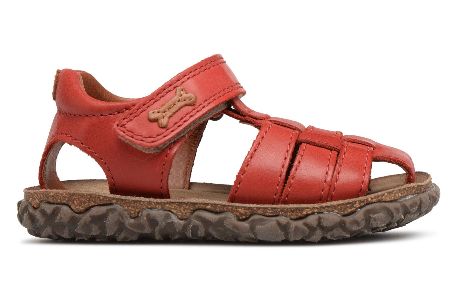 Sandals Stones and Bones Raxi Red back view