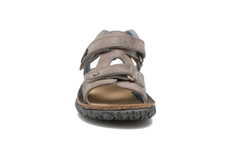 Sandals Stones and Bones Ranco Grey model view