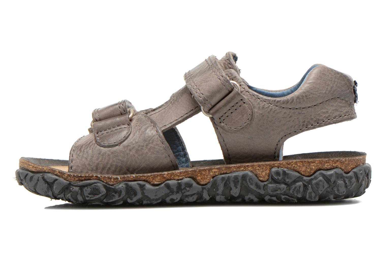 Sandals Stones and Bones Ranco Grey front view