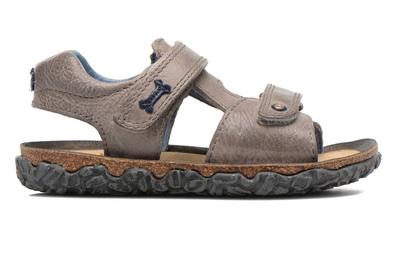 Sandals Stones and Bones Ranco Grey back view