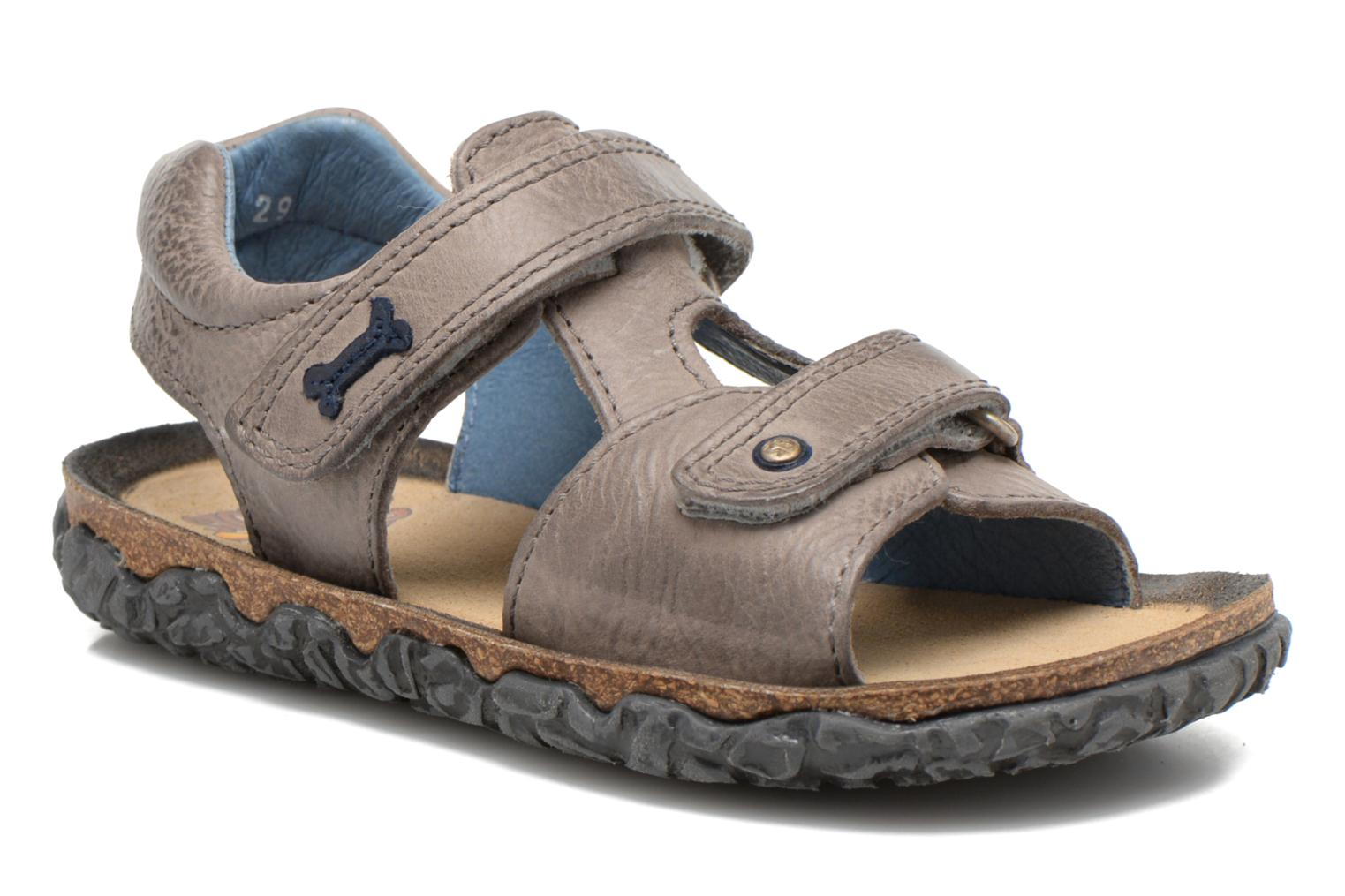 Sandals Stones and Bones Ranco Grey detailed view/ Pair view