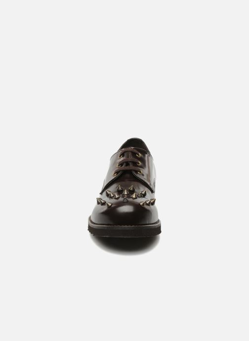Schnürschuhe Jonak Polido braun schuhe getragen