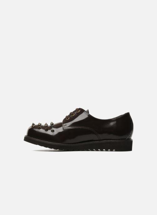 Zapatos con cordones Jonak Polido Marrón vista de frente