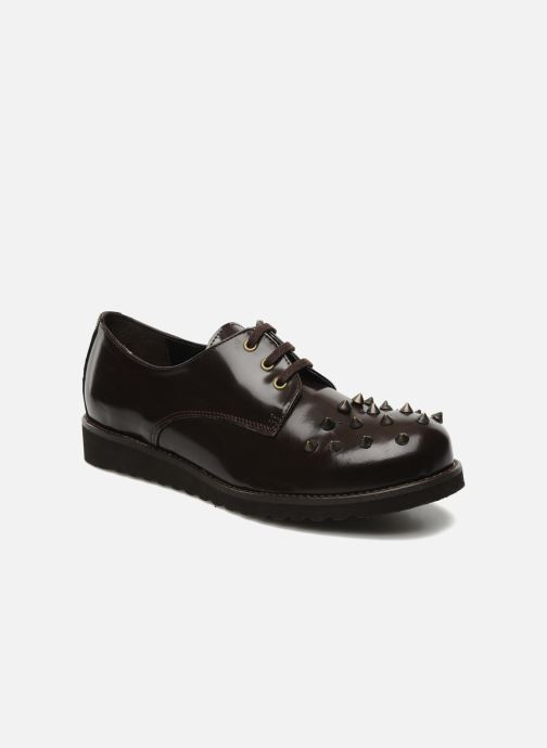 Lace-up shoes Jonak Polido Brown detailed view/ Pair view