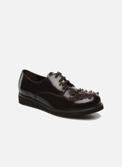 Zapatos con cordones Jonak Polido Marrón vista de detalle / par