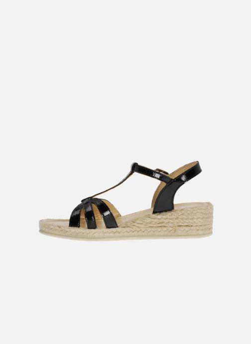 Sandales et nu-pieds Mod8 Espere Noir vue face