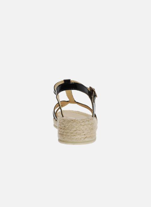 Sandales et nu-pieds Mod8 Espere Noir vue droite
