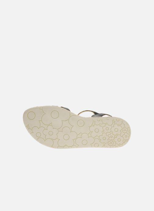 Sandales et nu-pieds Mod8 Espere Noir vue haut