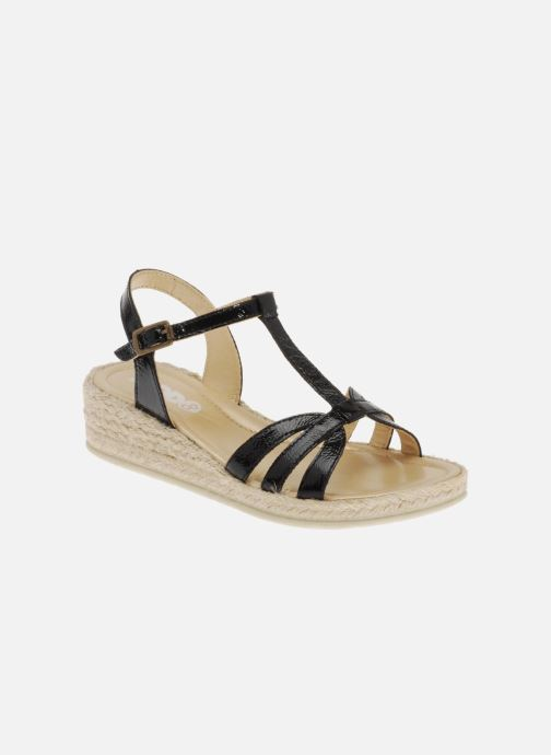 Sandals Mod8 Espere Black detailed view/ Pair view