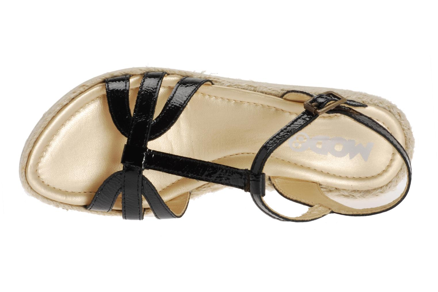 Sandals Mod8 Espere Black view from the left