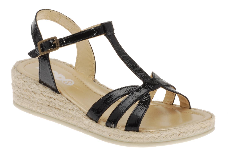 Sandals Mod8 Espere Black detailed view/ Pair view