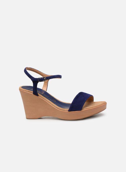 Sandales et nu-pieds Unisa Rita Bleu vue derrière
