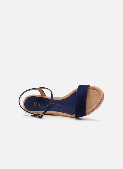 Sandales et nu-pieds Unisa Rita Bleu vue gauche