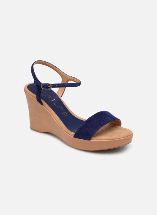 Sandales et nu-pieds Unisa Rita Bleu vue détail/paire