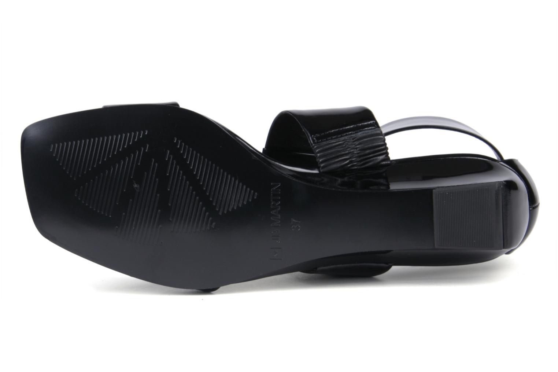 Sandales et nu-pieds JB MARTIN Indou Noir vue haut