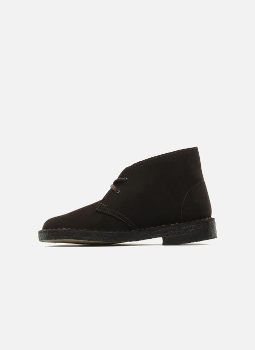 Zapatos con cordones Clarks Desert Boot W Marrón vista de frente