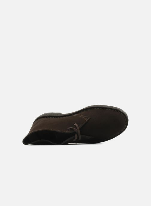 Zapatos con cordones Clarks Desert Boot W Marrón vista lateral izquierda