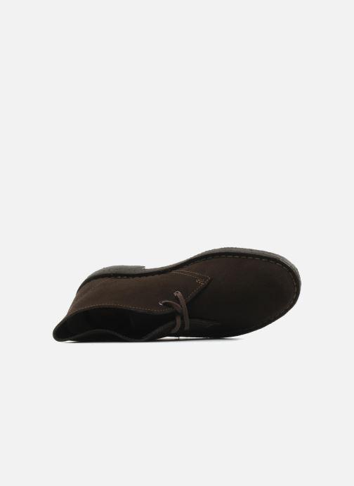 Scarpe con lacci Clarks Desert Boot W Marrone immagine sinistra