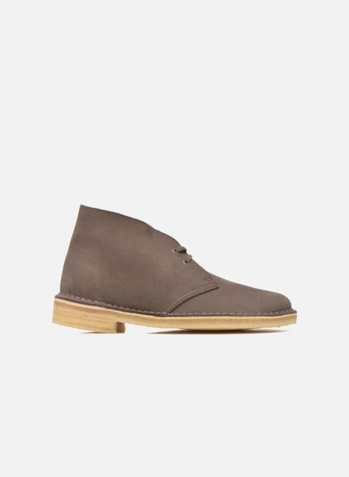 Lace-up shoes Clarks Desert Boot W Brown back view