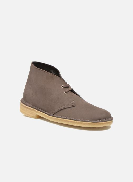 Lace-up shoes Clarks Desert Boot W Brown detailed view/ Pair view