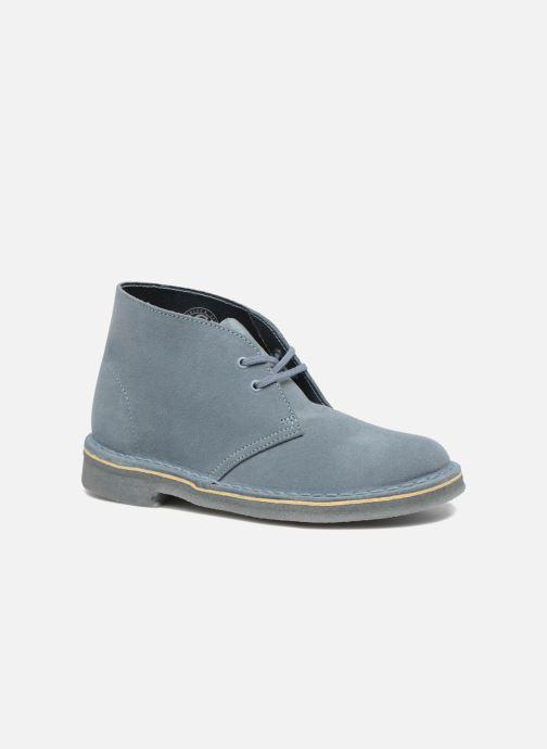 Zapatos con cordones Clarks Desert Boot W Azul vista de detalle / par