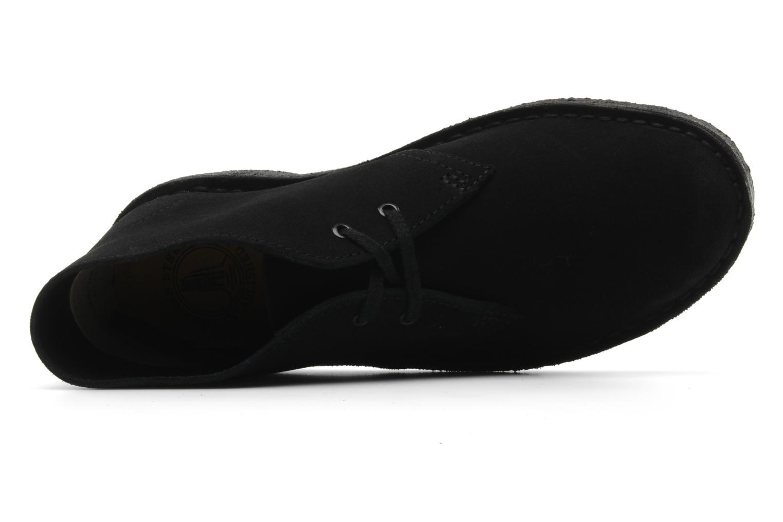 Chaussures à lacets Clarks Desert Boot W Noir vue gauche