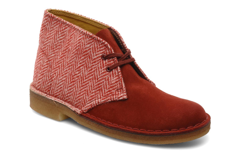 À Lacets Desert 101246 Boot Chez rouge Clarks W Chaussures Sarenza vFqdX