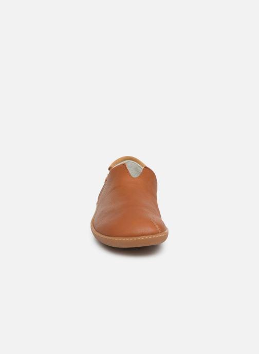 Loafers El Naturalista Viajero Moc N°275 Brown model view