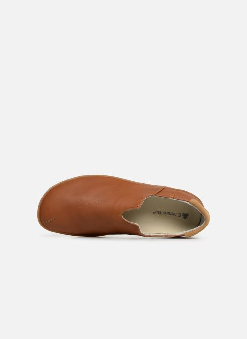 Loafers El Naturalista Viajero Moc N°275 Brown view from the left