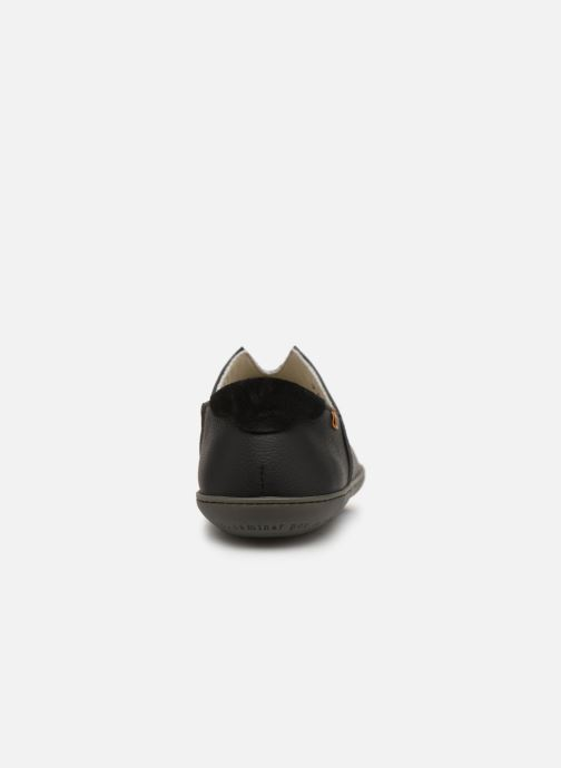 Loafers El Naturalista Viajero Moc N°275 Black view from the right