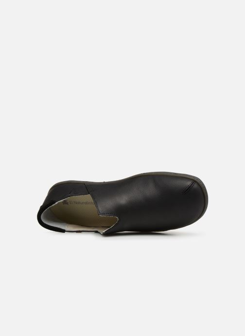Loafers El Naturalista Viajero Moc N°275 Black view from the left