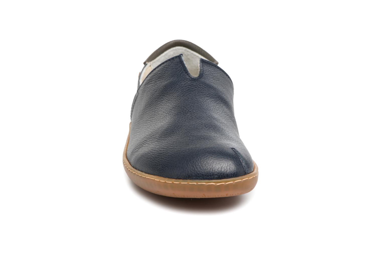 Mocassins El Naturalista El Viajero N275 Bleu vue portées chaussures