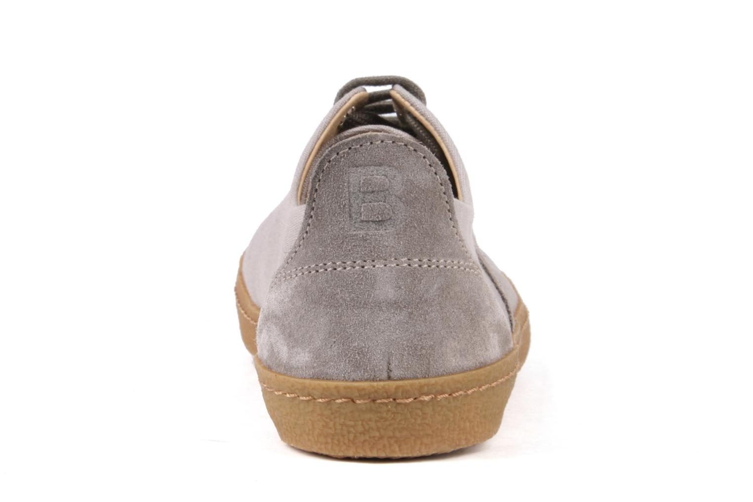 Baskets Bensimon Tennis Harrys F Gris vue droite