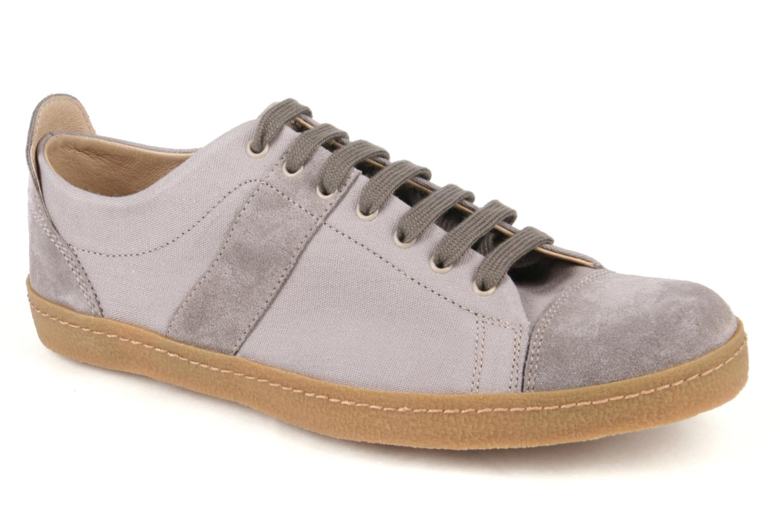Baskets Bensimon Tennis Harrys F Gris vue détail/paire