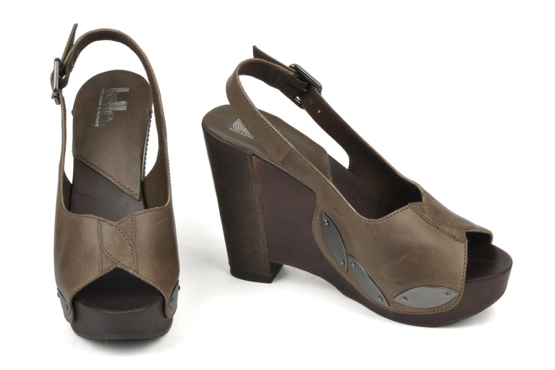 Sandali e scarpe aperte Belle Melania Marrone immagine dal basso