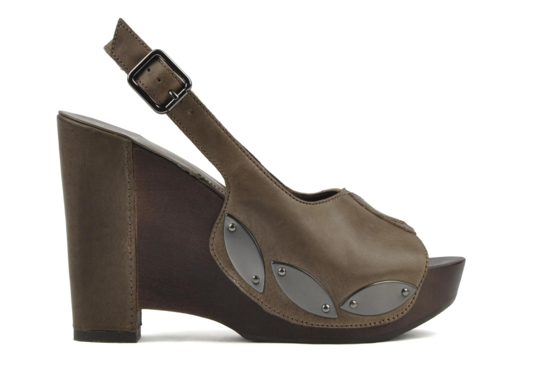 Sandali e scarpe aperte Belle Melania Marrone immagine posteriore