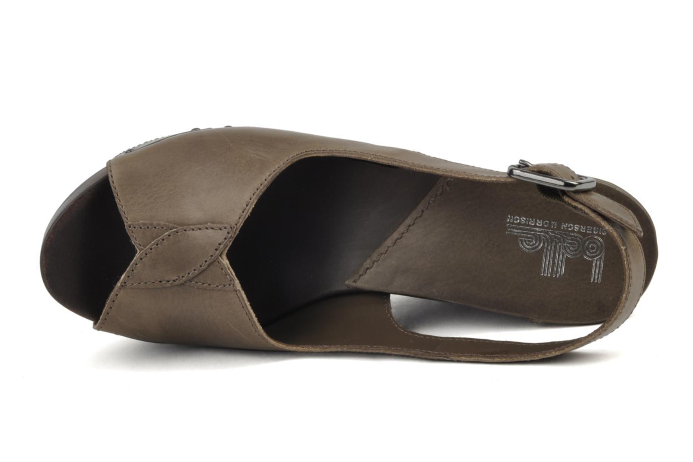 Sandali e scarpe aperte Belle Melania Marrone immagine sinistra