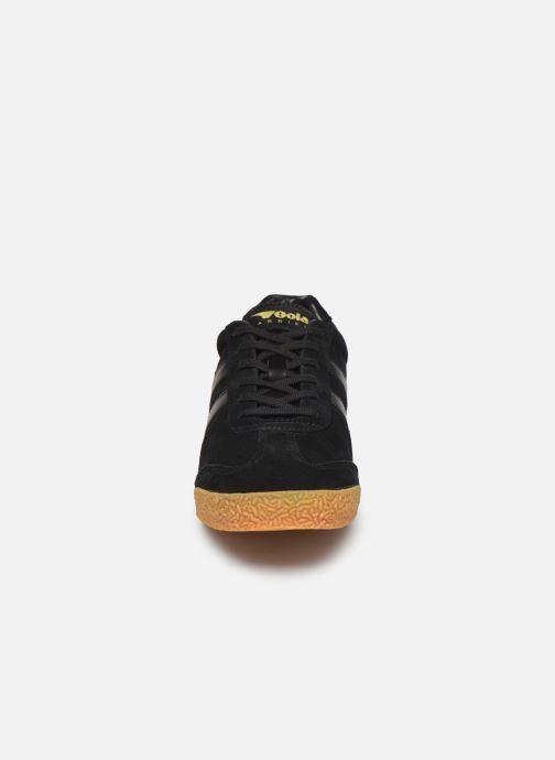 Baskets Gola Harrier Noir vue portées chaussures