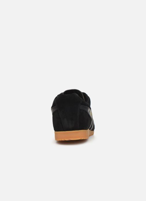 Baskets Gola Harrier Noir vue droite