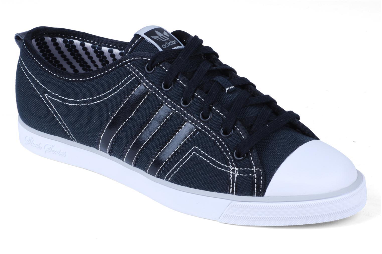 Baskets Adidas Originals Nizza Low Sleek W Noir vue détail/paire