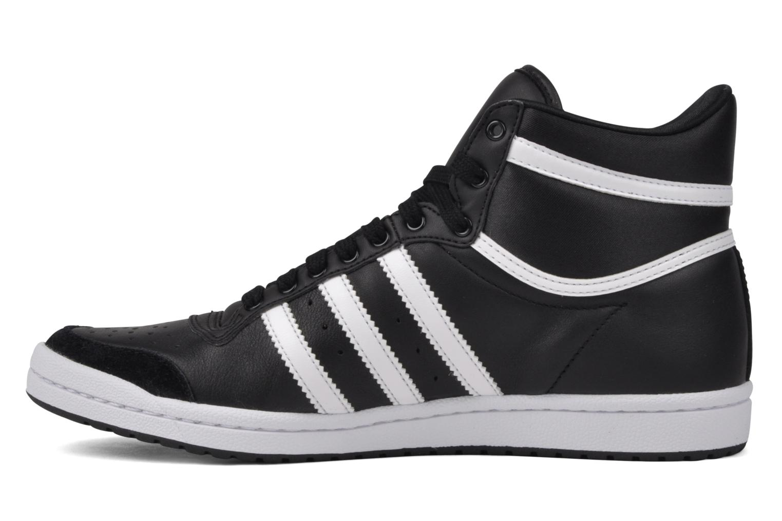 Deportivas Adidas Originals Top Ten Hi Sleek Negro vista de frente