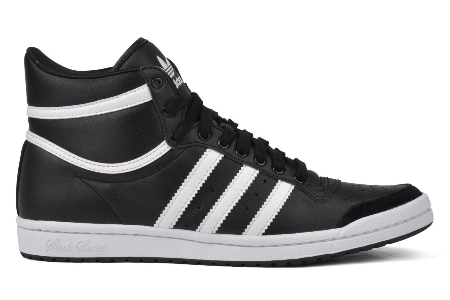 Deportivas Adidas Originals Top Ten Hi Sleek Negro vistra trasera