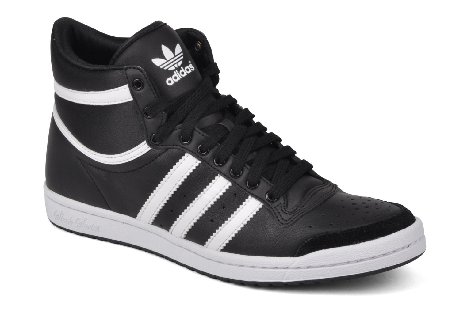 Deportivas Adidas Originals Top Ten Hi Sleek Negro vista de detalle / par