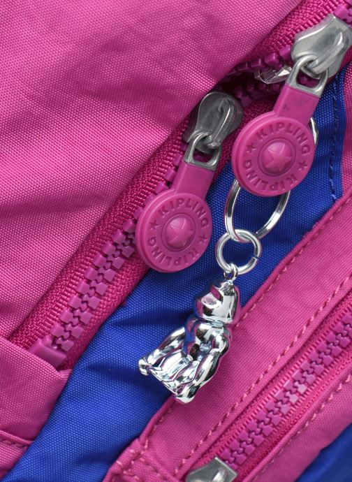 Rucksäcke Kipling Seoul rosa ansicht von links