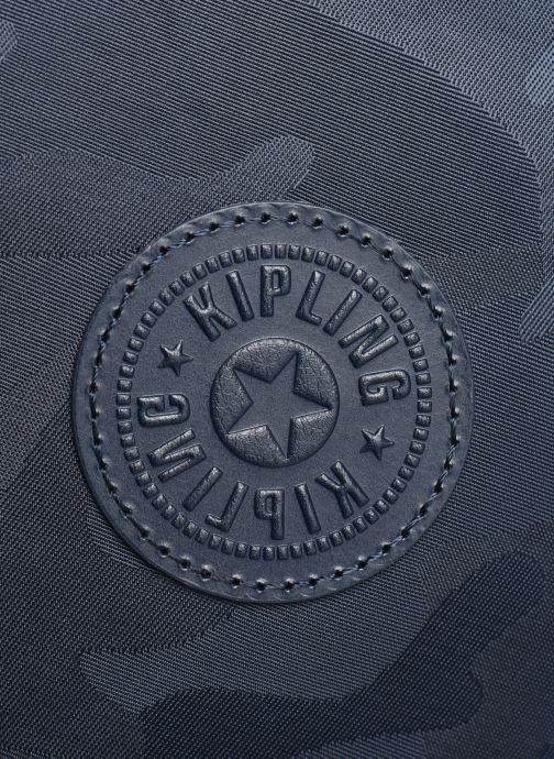 Rucksäcke Kipling Seoul blau ansicht von links