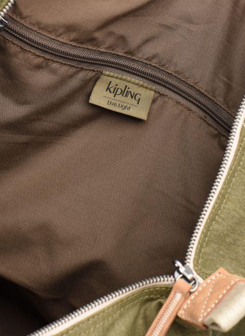 Reisegepäck Kipling Art M grün ansicht von hinten