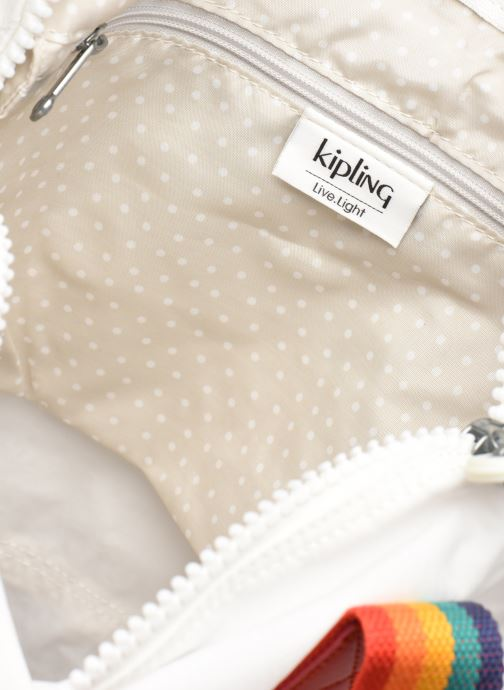 Bagages Kipling Art M Blanc vue derrière
